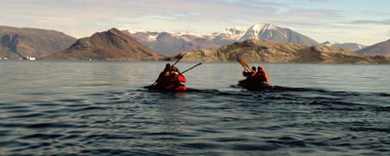 Følg med! Kajak ekspedition i Nordøstgrønland