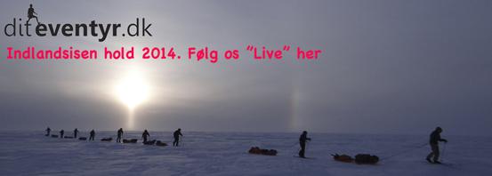 Følg Indlandsisen 2014 LIVE